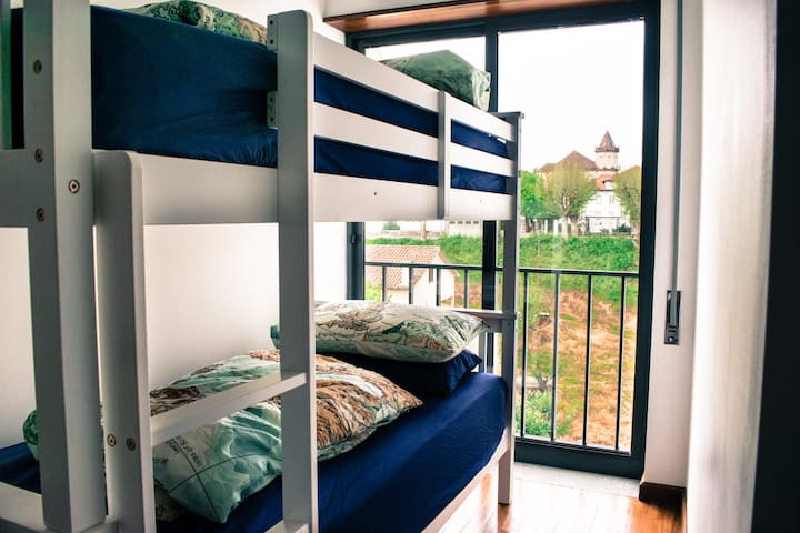 Bedroom 3 with Bunk Beds & Small Double Bed