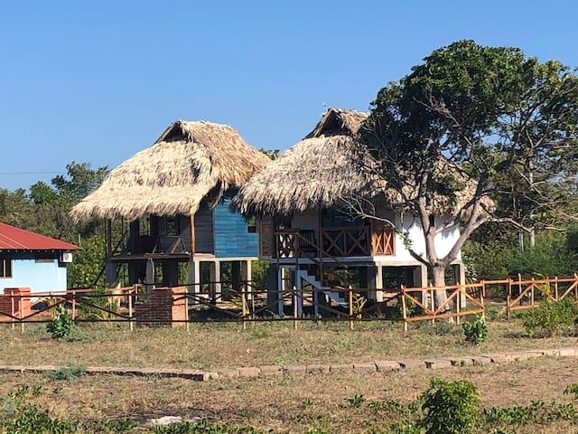 Beach Cabaña #4 at Playa Tesoro lot #30