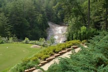 Gauley Falls Waterfall from Golf Course