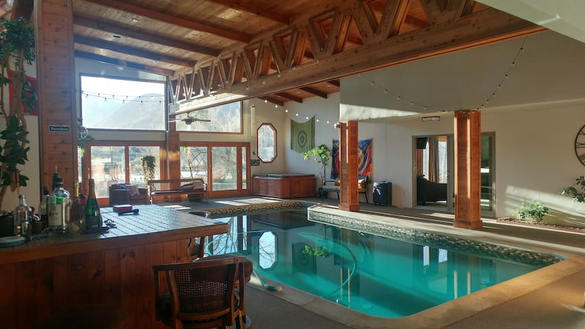Indoor Pool and Spa.