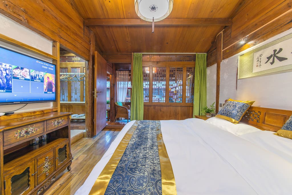 庭院大床房