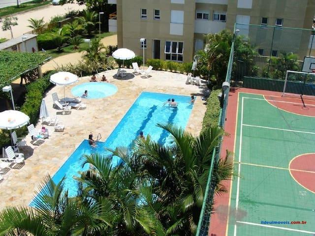 Apartamento familiar aconchegante a 500m da praia. - Bertioga - Apartmen
