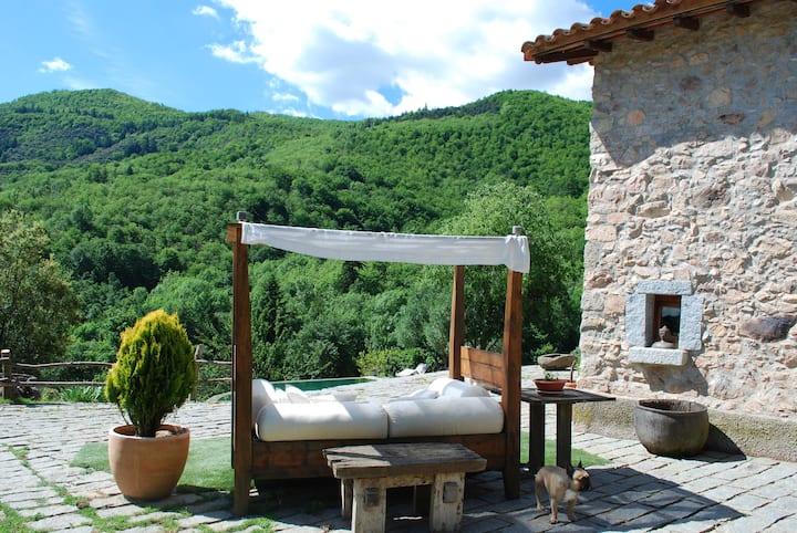 La Solana de El Solei , Paraiso en El Montseny