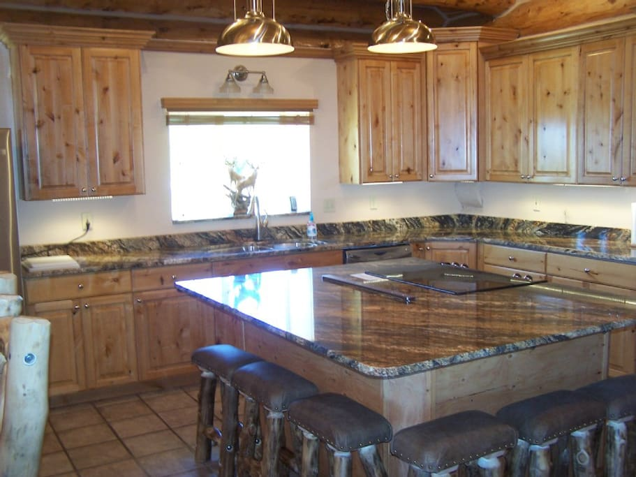 Gourmet Kitchen  Granite counter tops