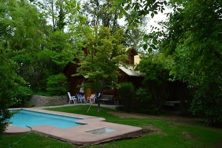 Gran Cabaña Familiar en el Cajón del Maipo.