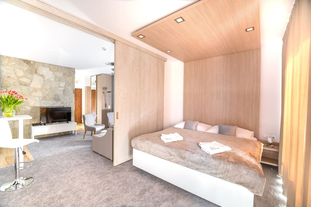 Spálňa, obývačka
