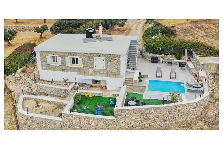 Serenity Villa Karpathos House With Private Pool
