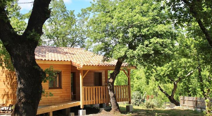 Maison en bois 62m2