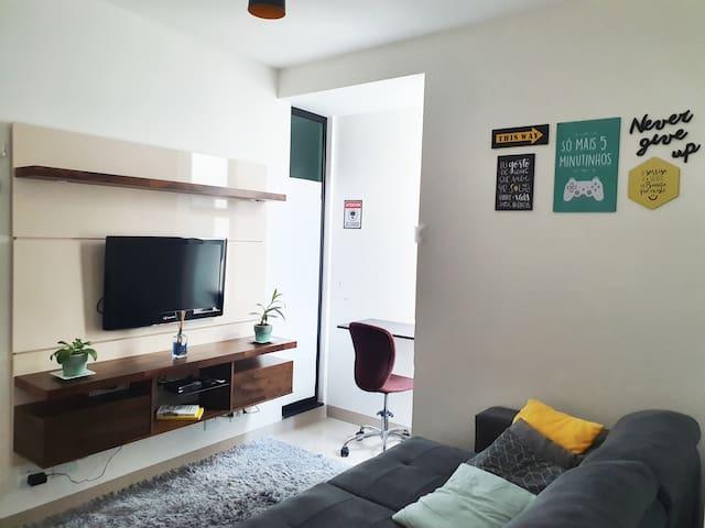 Apartamento Inteiro Aconchegante Brasília