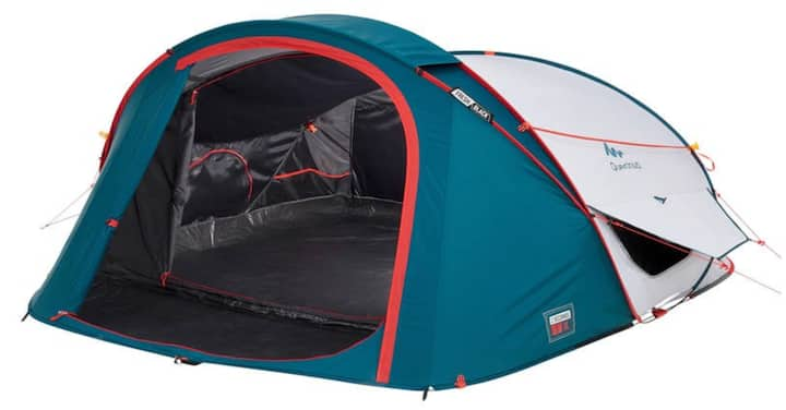 Cheap and Comfortable Tent to Rent for 3
