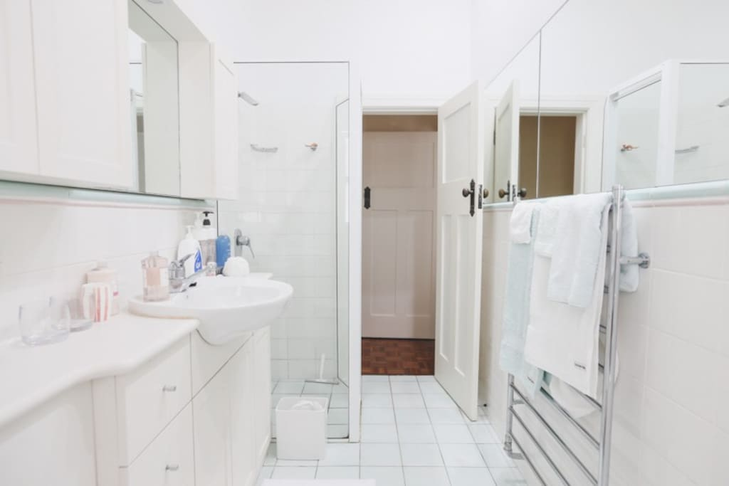 Your own ensuite bathroom with separate bath and shower.