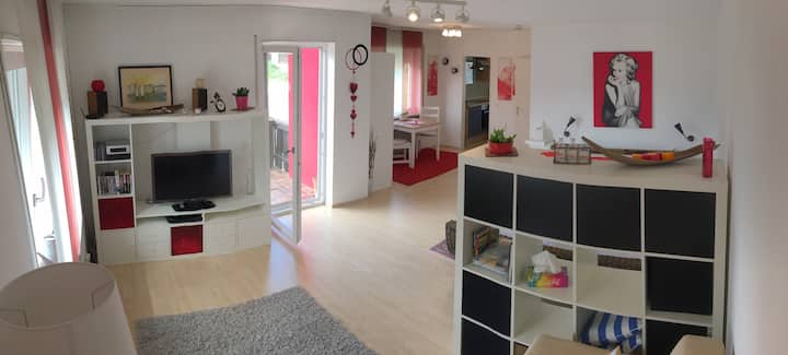 Cosy and quiet Apartment with views to Salzburg