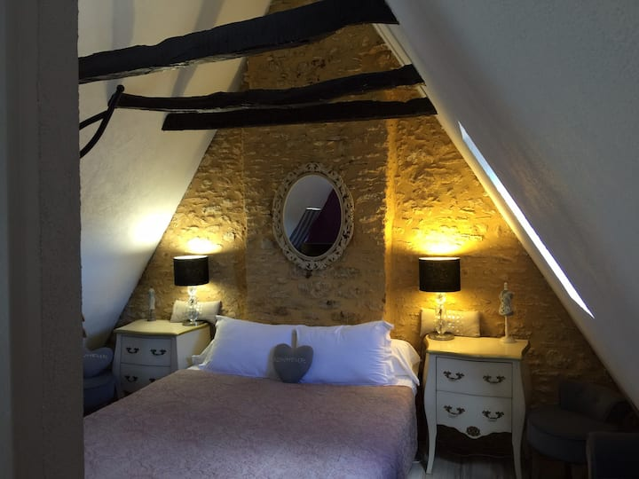 B&B SARLAT center of the city & free parking