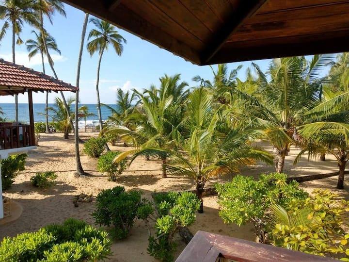 Prázdninový dům v Tropical Garden přímo na pláži