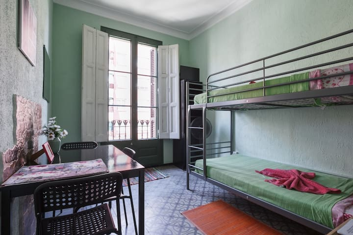 Big Bedroom (City Center) with balcony