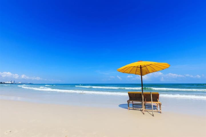 HuaHin and Cha-am Beach.