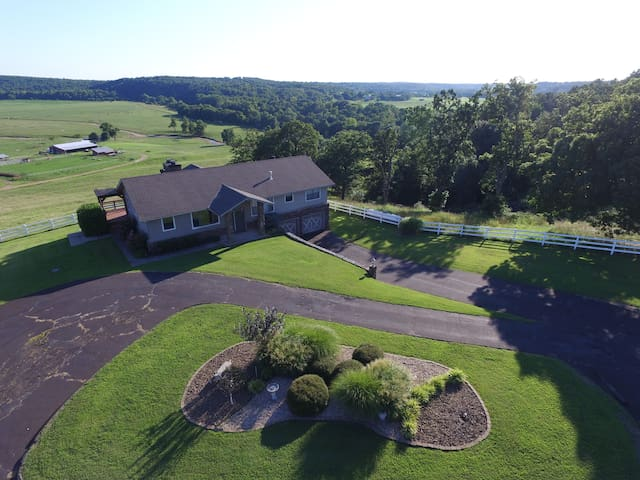 Retreat Haven on 400 acres - Anderson - Haus