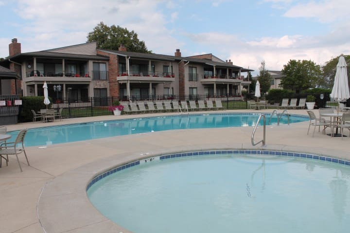 Fontana Condominium on Lake Geneva Lake