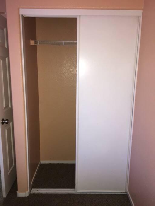 Private Bedroom closet