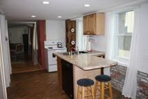 Kitchen Includes Dishwasher