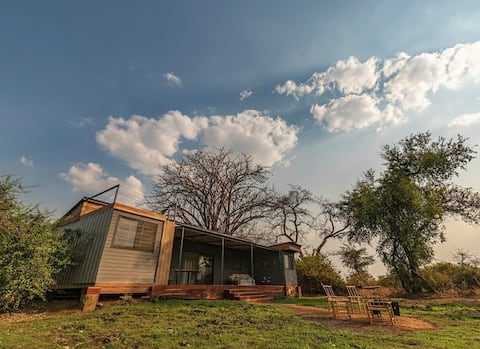 Luxury Shipping Container Home in the African Bush
