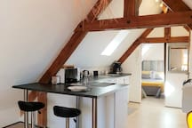 LOVELY AND EQUIPPED  LOFT WITH AIR CONDITIONING