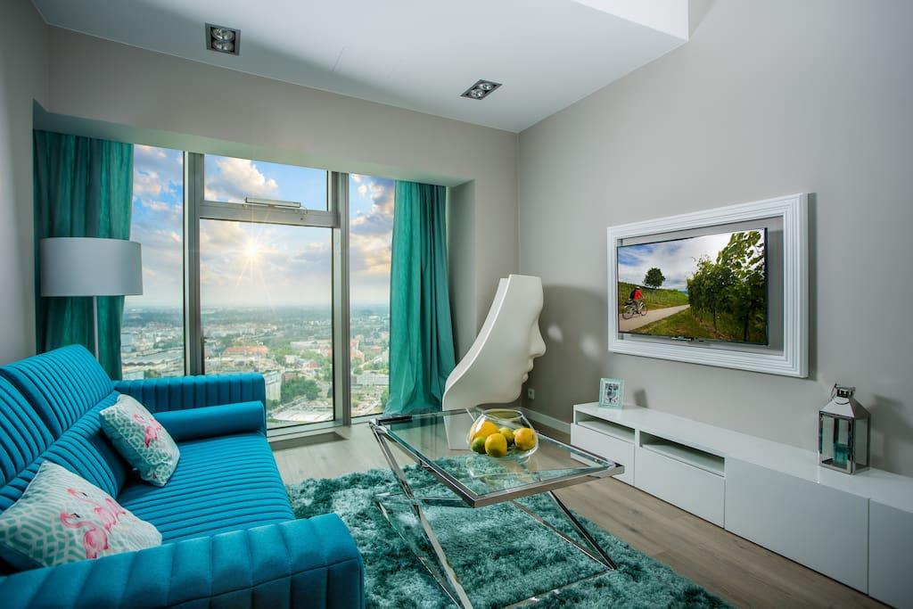 Apartament na 38 piętrze/ 38 floor