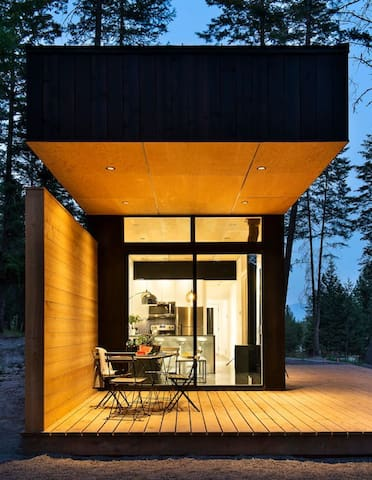 Modern Tiny House in Woods (The Two Medicine)