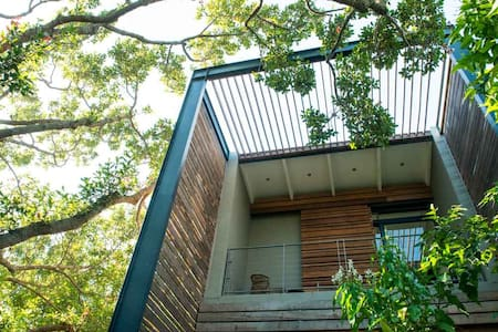 Park House Nest - modern studio in the trees