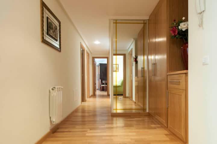 Apartamento amplio de 3 habitaciones