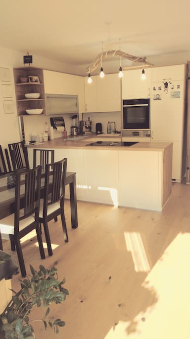 This is the kitchen, which is fully equipped and also includes a dishwasher that you should feel free to use :)