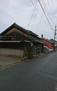 阿武町奈古の漁師町の中古民家ゲストハウスGUEST HOUSE IKIATARI
