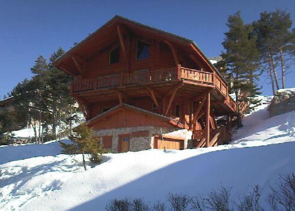 Le Chalet du Chardon - winter