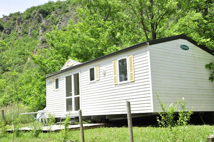 Mobil-home, trois chambres!