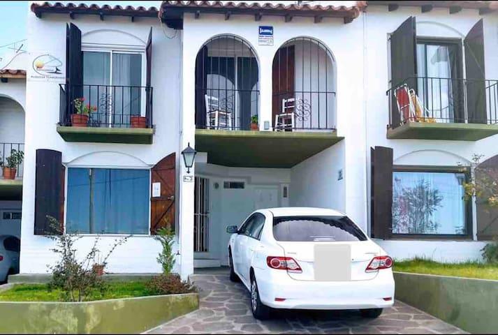 Duplex frente al mar,3 habitaciones y 2 baños full