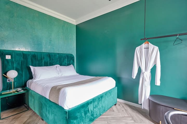 Tanzania 'inspired' boutique hotel room