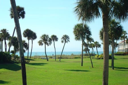 2brcondo on Longboat Key private beach,pool,tennis - Longboat Key - Condomínio