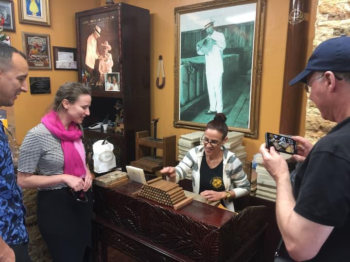 Cigar factory in Little Havana