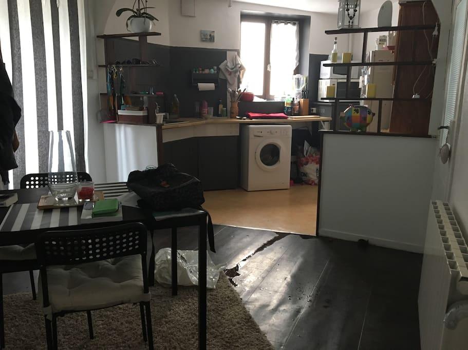 Appartement de charme et atypique 3 pi ces limoges for Appartement atypique limoges
