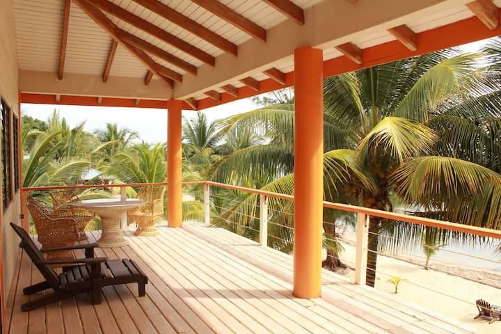 Beachfront, Balcony, Upper Dreamsicle, Pool, 2b