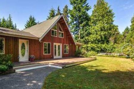 Private Room minutes from Spider Lake - Qualicum Beach - Talo