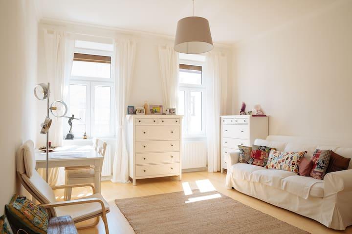 Airbnb - Zimmer im renovierten Wiener Altbau