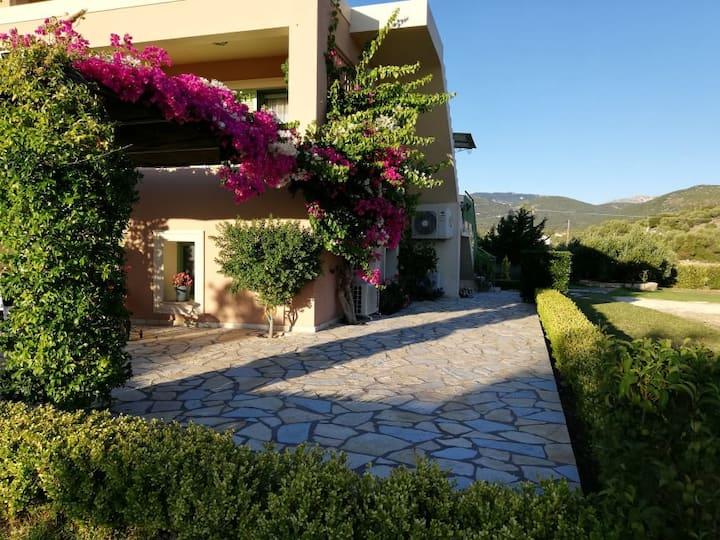 Vivia house - 5' from Argostoli ideal family home