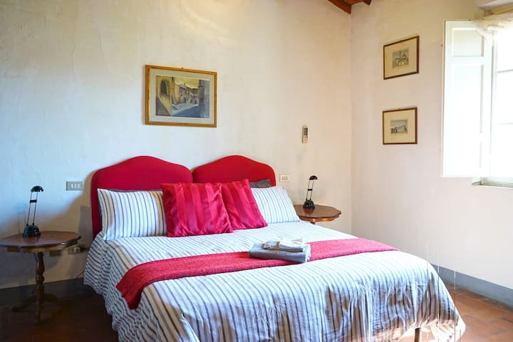 Second bedroom has two single beds that can be joined to make a queen bed.