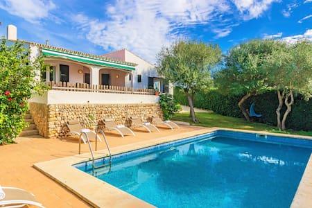 Villa de's Ullastres ❤️ Free AC and WiFi, private pool