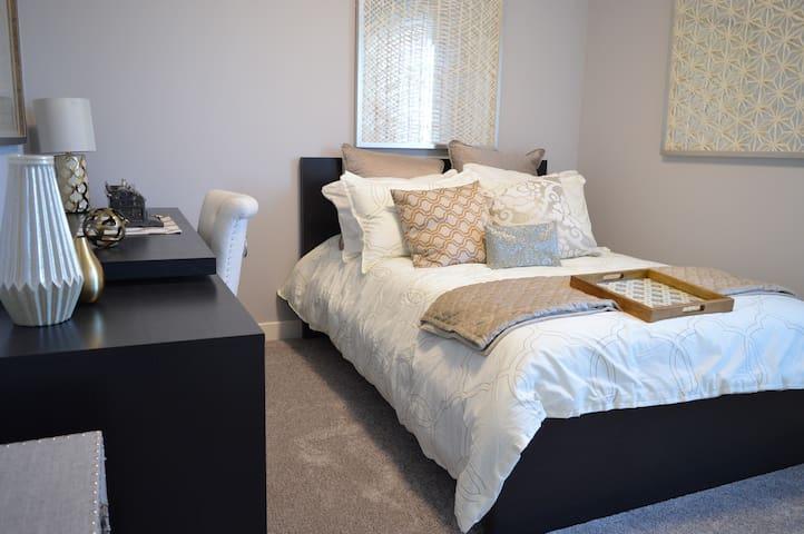 Simplistic and quite private room