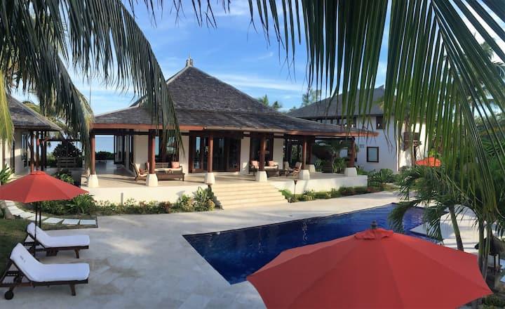 Exotic Balinese Beachfront Home