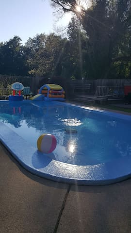 backyard pool for some summer fun!