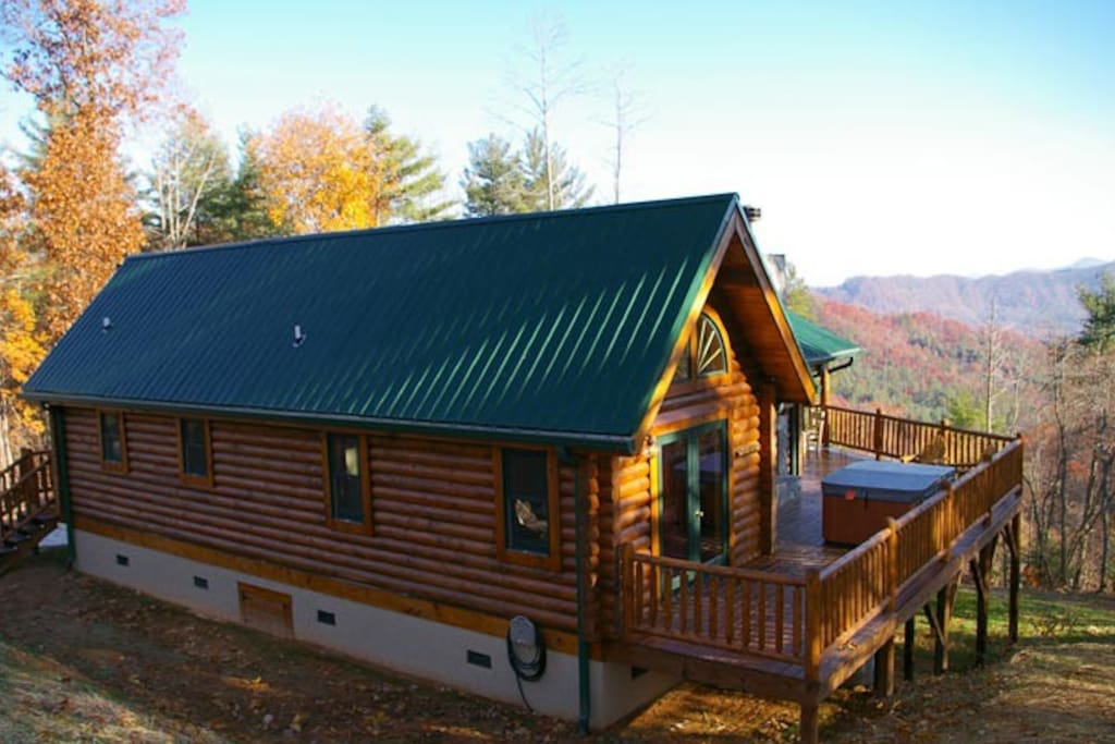 Nantahala gorgeous cabins for rent in almond north for The cabins at nantahala