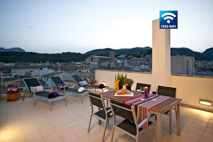 Lovely apartment in the heart of Pollensa PURPLE - Pollença - Appartement